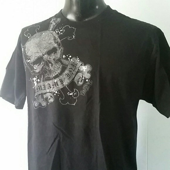 a4e963df8 Miami Ink Shirts | Tshirt Tattoo Skull Tee Chris Garver | Poshmark